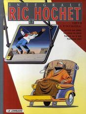 Ric Hochet ; intégrale t.17 - Intérieur - Format classique