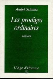 Les Prodiges Ordinaires - Couverture - Format classique