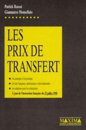 Les prix de transfert - Couverture - Format classique