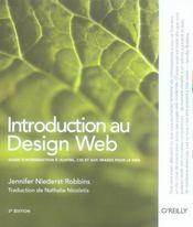 Introduction design web - Intérieur - Format classique