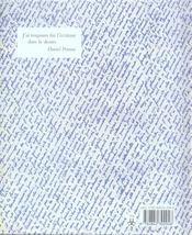 Écrire - 4ème de couverture - Format classique
