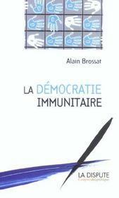 La Democratie Immunitaire - Intérieur - Format classique