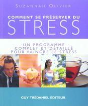 Comment Se Preserver Du Stress - Intérieur - Format classique