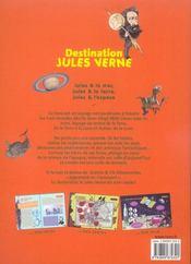 Destination Jules Verne L'Aventure De La Science Fiction - 4ème de couverture - Format classique