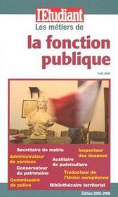 Les métiers de la fonction publique - Intérieur - Format classique