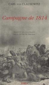 Campagne De 1814 - Couverture - Format classique