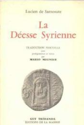 Déesse syrienne - Couverture - Format classique