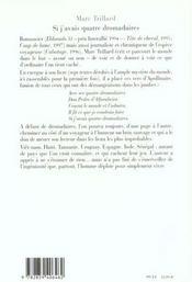 Si J'Avais Quatre Dromadaires - 4ème de couverture - Format classique