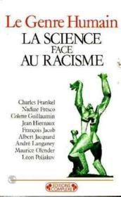 La science face au racisme - Couverture - Format classique