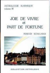 Joie De Vivre Et Part De Fortune T.3 - Couverture - Format classique