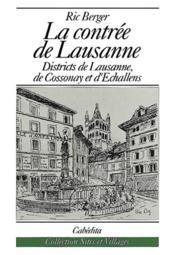 La Contree De Lausanne - Couverture - Format classique