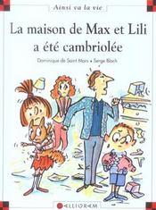 La maison de Max et Lili a été cambriolée - Intérieur - Format classique