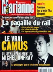 Marianne N°767 du 30/12/2011 - Couverture - Format classique