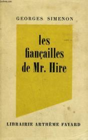 Les Fiancailles De Mr.Hire. - Couverture - Format classique