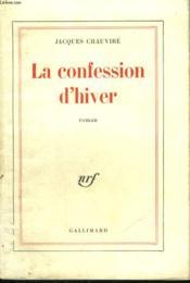 La Confession D'Hiver. - Couverture - Format classique