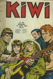 Kiwi, Mensuel N° 183. Masque De Cuir. - Couverture - Format classique