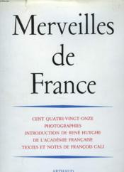 Merveilles De France - Couverture - Format classique