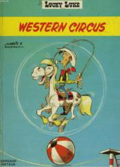 Lucky Luke - Western Circus - Couverture - Format classique