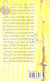 Devoirs D'Ecriture. Modeles D'Histoires Pour Filles Et Litterature Feminine Au Xix Siecle - 4ème de couverture - Format classique