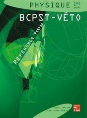 Physique 1re annee bcpst-veto (collection reference prepas) - Intérieur - Format classique