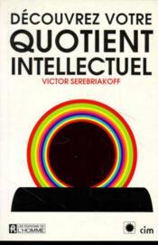 Decouvrez Quotient Intellectuel - Couverture - Format classique