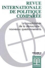 Revue Internationale De Politique Comparee 2001/2 - Couverture - Format classique