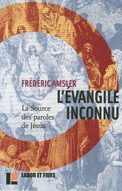 L'évangile inconnu - Couverture - Format classique