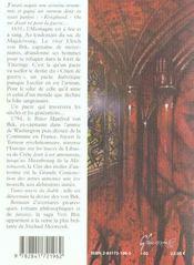 Von Bek Livres 1 & 2 Chien De Guerre Cite Des Etoiles - 4ème de couverture - Format classique