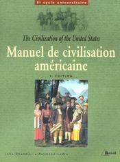 Manuel de civilisation americaine - Intérieur - Format classique