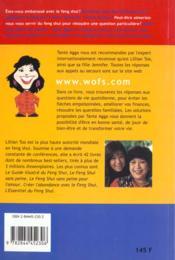 Feng Shui Les Secrets De La Reussite - 4ème de couverture - Format classique