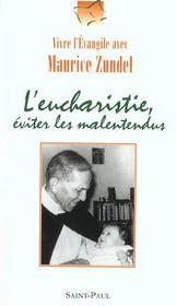 L'Eucharistie, Eviter Les Malentendus - Intérieur - Format classique