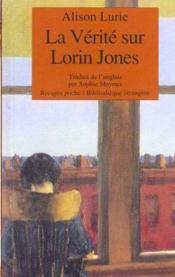 La Vérité Sur Lorin Jones - Couverture - Format classique