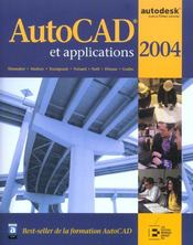 Vente  Autocad et applications 2004  - Shumaker