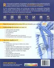 Autocad Et Applications 2004 - 4ème de couverture - Format classique