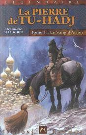 Pierre De Tu-Hadj 1 (La) - Sang D'Arion (Le) - Intérieur - Format classique