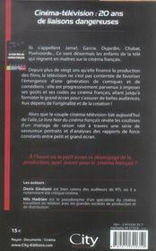 Le livre noir du cinéma français - 4ème de couverture - Format classique