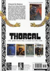 Thorgal T.3 ; Beyond The Shadow - 4ème de couverture - Format classique
