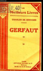 Gerfaut - Tome 3 - Couverture - Format classique