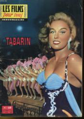 DES FILMS POUR VOUS - TABARIN - 5eme ANNEE - N°186 - Couverture - Format classique