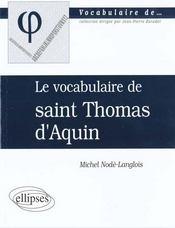 Saint Thomas D'Aquin - Intérieur - Format classique