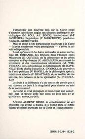 Corse-Autour. Identites Enjeux En Europe Et En Medi - 4ème de couverture - Format classique