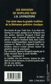 Mourir Pour La Couronne - 4ème de couverture - Format classique