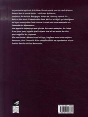De terre et d'esprit ; le patrimoine spirituel de la côte-d'or - 4ème de couverture - Format classique