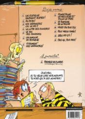 L'élève Ducobu t.13 ; pas vu, pas pris ! - 4ème de couverture - Format classique