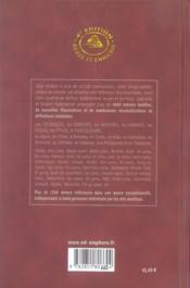Encyclopedie des arts martiaux de l'extreme-orient - 4ème de couverture - Format classique