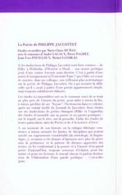 Charroi de nimes- traduction - 4ème de couverture - Format classique