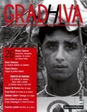 Cahier De Gradhiva N.26 ; Ernesto De Martino - Couverture - Format classique