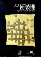 Au royaume du signe - Couverture - Format classique