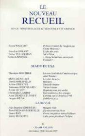 Nouveau Recueil N.41 - Couverture - Format classique