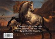 Les chevaux - 4ème de couverture - Format classique